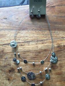 Wallis Jewellery ( Necklace And Earrings) Set. BN.
