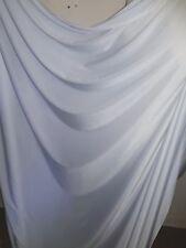 5 m) blanc Lycra Tissu Large 58