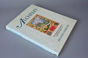 R&L Book: Alchemy, The Medieval Alchemists, Johannes Fabricius, Hardback 1989