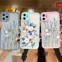 FLOWER Case For Apple iPhone 12 SE XR 11 Pro Max X XS 7 8 Plus Liquid SILICONE