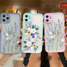FLOWER Case For Apple iPhone SE 2020 XR 11 Pro Max X XS 7 8 Liquid SILICONE