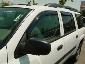 Chevy Trailblazer EXT 2002-2006 Wind deflectors In-Channel