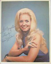 Karen Wheeler Original Autograph Country Star 1980s Blue Halter Dress