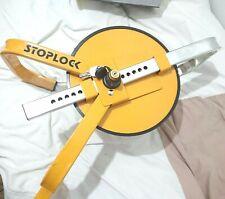 Stoplock HG 400-00 Steering Wheel Lock Wheel Clamp - Yellow