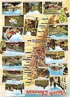 B60014 Maps Cartes geographiques Deutsche Weinstrasse