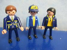 3 Post Figuren Postboten Paketboten  DHL zu 4400 4401 Playmobil 246