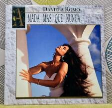 Daniela Romo-Amada Mas Que Nunca [1991], Lp De Vinilo Importado De México Pop Latino * Excelentes