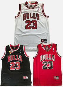 3 Color!New Michael Jordan Chicago Bulls Throwback Swingman Jersey Size S-XXL