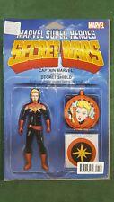 CAPTAIN MARVEL & THE CAROL CORPS #1 Action Figure Variant Secret Wars 2015 *CB7