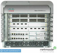 Cisco ASR-9006-AC Aggregation Services Router Chassis 3x A9K-3KW-AC 1-Year Warra