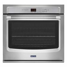 "Maytag MEW7527DS 27"" Single Wall Oven, Precision Cooking Stainless"