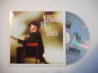 FRANCINE RAYMOND : Y'A LES MOTS [ CD SINGLE PORT GRATUIT ]