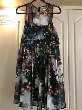 Coast Atiya Printed Dress Size 14 Brand New With Tags