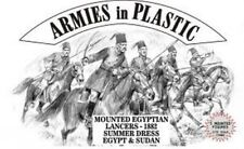 Armies in Plastic - Mounted Egpytian Lancers Summer Dress Egypt Sudan 1882 54mm