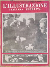 L'ILLUSTRAZIONE ITALIANA SPORTIVA 14 GENNAIO 937 MEGEVE SAN MARTINO DI CASTROZZA