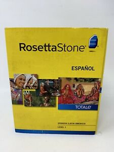 2010 Rosetta Stone Espanol TOTALE Spanish Level 1 Version 4