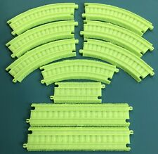 LOT OF 10 Thomas the Train Trackmaster Glow In The Dark Replacement Track Pieces