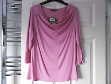 Ladies pink 3/4 sleeve top size 12 from BHS new with tag