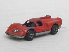 Lola Aston Martin Nr.9 in rot, Politoys, o.OVP, L: 6,0 cm