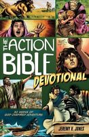Action Bible Devotional : 52 Weeks of God-Inspired Adventure, Paperback by Jo...