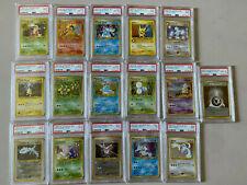 Pokemon Complete Neo Genesis Holo PSA Set PSA 8/9/10 Japanese Typhlosion/Lugia