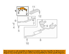 GM OEM-Catalytic Converter 15118654