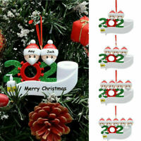 2020 Xmas Christmas Hanging Ornaments Family Ornament Personalized Family Diy