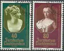 Timbres Europa Liechtenstein 682/3 o lot 6499