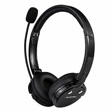 Bluetooth Headset w Mic Wireless Stereo Headphone Music Streaming for Truck PS3