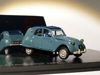 Citroën 2CV   Bleu 1961  au 1/43 de NOREV AMC009181