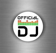 Sticker decal art wall car moto biker DJ headphones music turntable laptop r4