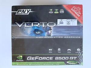 PCI Graphics Card PNY Verto NVIDIA GeForce 8500GT 512MB (VCG85512GXPB)