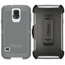 New Otterbox Defender Series Case for Samsung Galaxy S5 With Clip Glacier