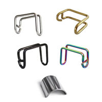 Titanium Alloy Front Wheel E Hook Guard Cover for Brompton Folding Bicycle Bike