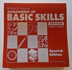 New 500pg Brigance English & Spanish Assesses Math Reading Grade 1 2 3 4 5 6 7 8