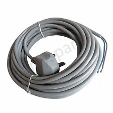 for Karcher  Vacuum Cleaner Mains Cable  Lead Grey 10m Universal All Models