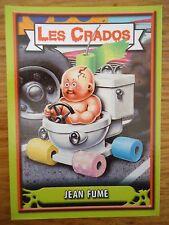 Image * Les CRADOS 3 N°27 * 2004 album card Sticker FRANCE Garbage Pail Kid