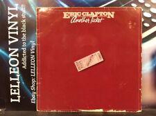 Eric Clapton Another Ticket LP Album Vinyl Record RSD5008 A1/B1 Rock 80's