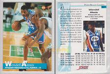JOKER BASKET Serie A1 1994-95 - Wendell Alexis # 67 - Near Mint