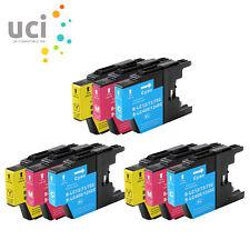 9 CMY Ink Cartridge fit Brother LC1240 DCP J525W J725DW J925DW MFC J430W J5910DW