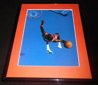 Michael Jordan Overhead Dunk Framed 11x14 Photo Display Chicago Bulls