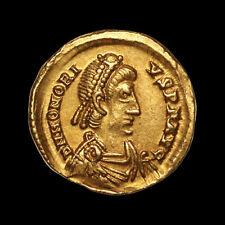 Honorius (395-423-602) Solidus Or Ravenne