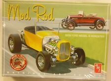 AMT 1/25 1929 Ford Model A Roadster Mod Rod Model Kit 1000