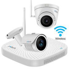 2 Zxtech Wireless CCTV Camera DVR Network High Definition Waterproof H265 System
