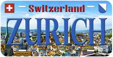 Zurich Switzerland Aluminum Novelty Car License Plate