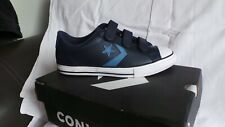 BRAND NEW in box Converse Leather Star Player 3V Lo Ox trainers Size 5 EU38 Navy
