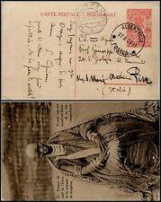 CONGO BELGA - Intero postale 1 Franco Albertville->Modena 22.11.1930