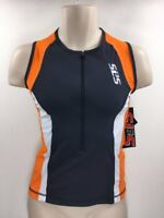 SLS3 Men's Tri Top FX Race Singlet Small  MSRP $99