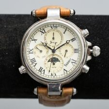 Stauer Chronograph Wristwatch 13372 Stainless Steel and Water Resistant