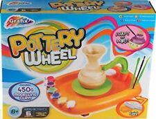 Kid's Potters Wheel - Make Your Own Clay Pottery Ornaments! Art Toy